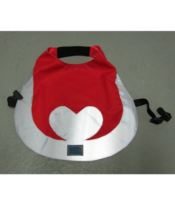 Heijastinliivi sydän, punainen copy